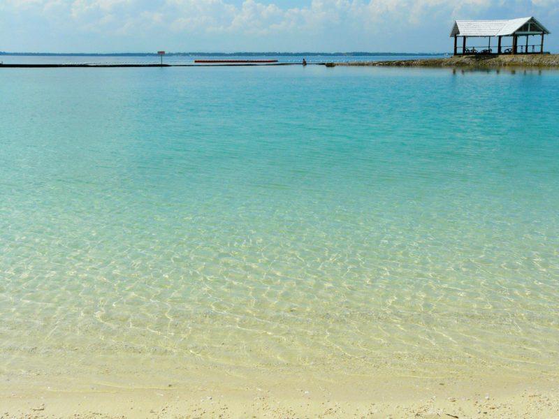 セブ島の砂浜