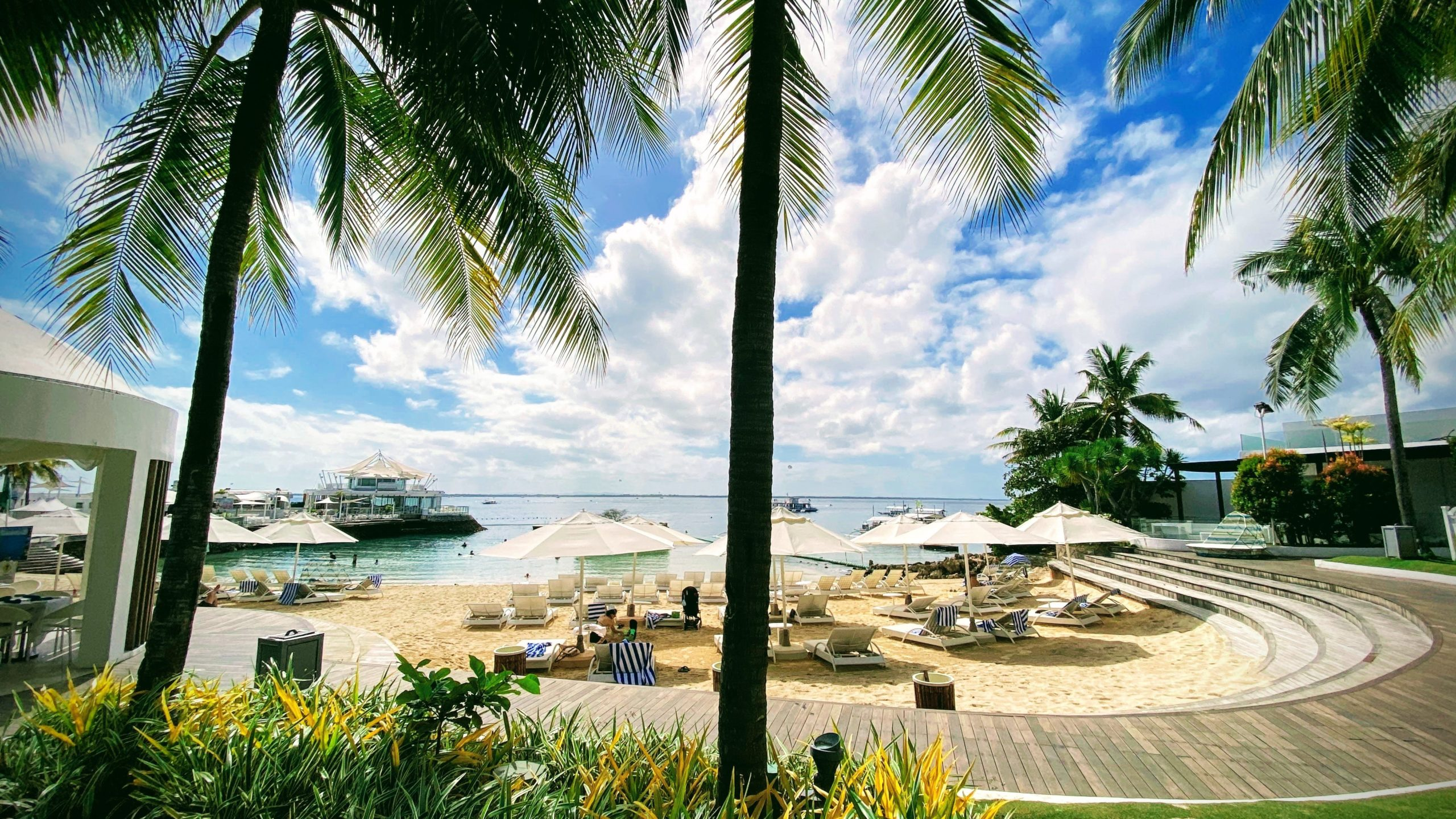 セブ島のリゾートホテル